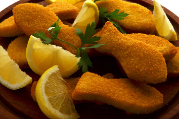 Fish sticks Bastoncini di pesce 鱼棒