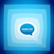 Speech bubble background