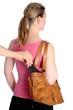 Taschendiebstahl Handy aus Handtasche