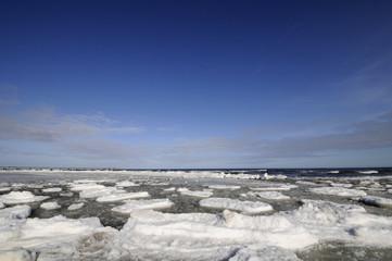 Winter an der Ostsee - Hintergrund