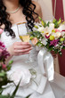 Champagne on wedding