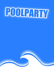 plakat poolparty III