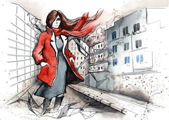 urban woman (series C)