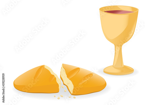 Communion – bread and wine