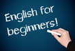 English for beginners !
