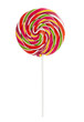 Colorful Lollipop Isolated