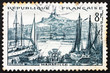 Postage stamp France 1955 Marseille, France