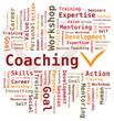 Nuage de Mots Coaching en Anglais