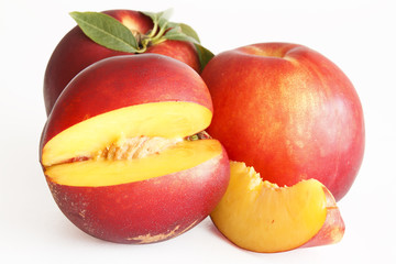 a slice of nectarine