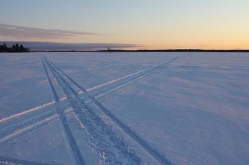 Crossed tracks