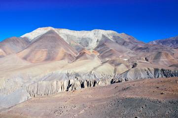 Fantastic landscape near Kangbeni, Nepal