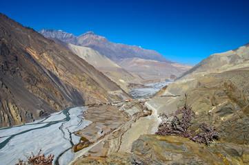 River Valley near Jomosom, Nepal