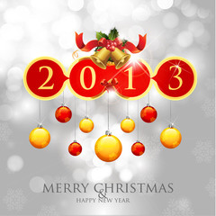 Merry Christmas & Happy New Year 2013