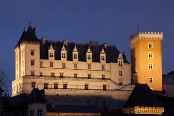 Castillo de Pau, Pirineos Atlanticos, Aquitania, Francia