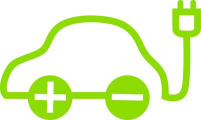 Logo: Elektroauto