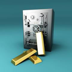 Wertanstieg - Gold im Tresor