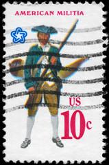 USA - CIRCA 1975 Militia