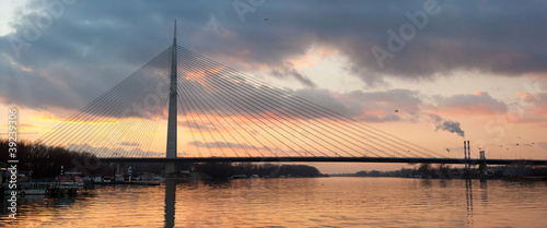 cable bridge Ada