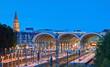 Kieler Bahnhof  am Abend
