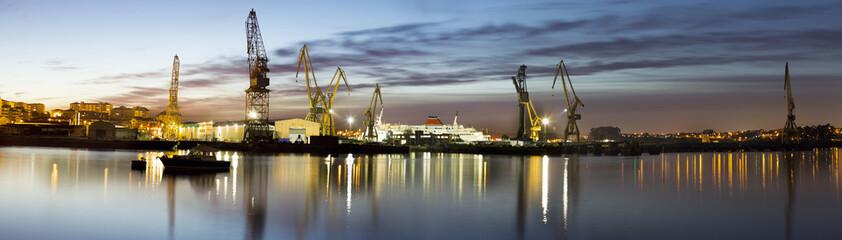 Paisaje portuario