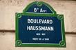 Boulevard Hausmann à Paris 8ièm