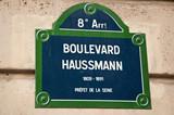 Boulevard Hausmann à Paris 8ièm poster