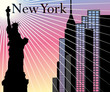 obraz - New York Skyscrape...