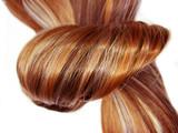 Fototapety highlight hair texture background