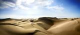Fototapete Blau - Curves - Sandwüste