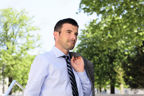spring businessman