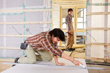 studwork: fixing the plaster boards
