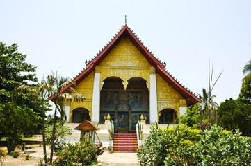 The church in Laos Temple