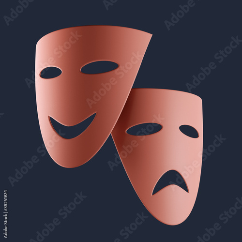 Theatral masks