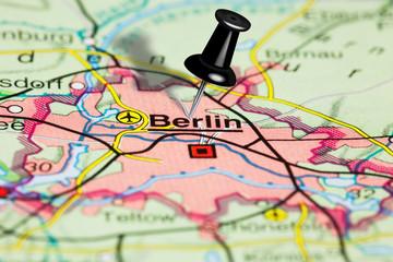 Kartenausschnitt Berlin