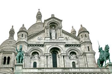 Cathedral Sacre Coeur, Montmartre,Paris
