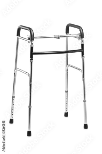 Studio shot of a walker, orthopedic equipment