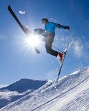 Fototapeta sporty zimowe - śnieg - Sporty Zimowe