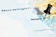 Kartenausschnitt Bergen