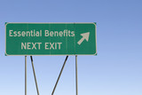 Essential Benefits - Next Exit Road poster