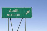 Audit - Next Exit Road poster