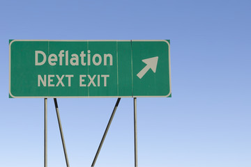 Deflation - Next Exit Road