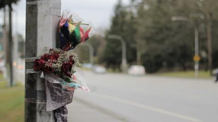 Accident Scene Memorial