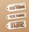 Made with Eco-friendly Fabric labels