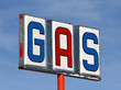 Old Mojave Desert Gas Sign