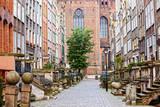 Fototapety Mariacka Street in Gdansk
