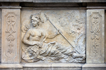 Athena Relief in Gdansk