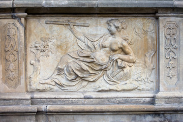 Allegory of Science Relief