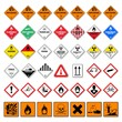 icon set dangerous good VI