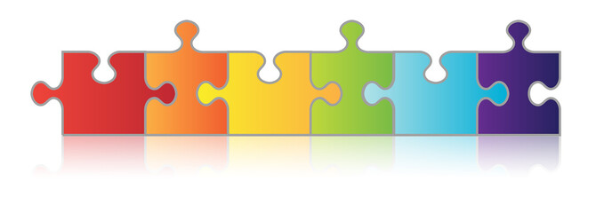 Six Piece Puzzle Chain