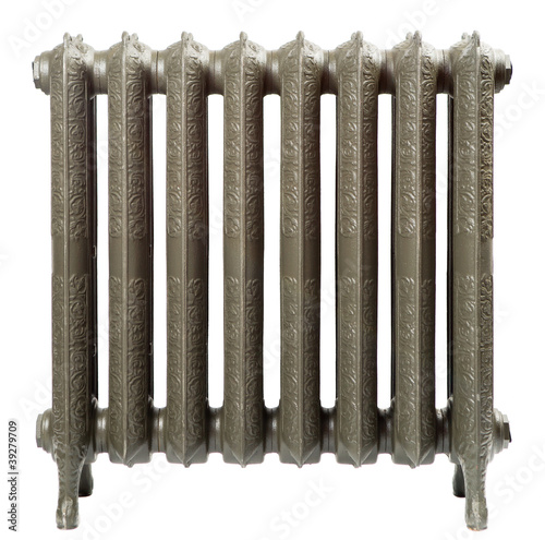 A cast iron radiator for home